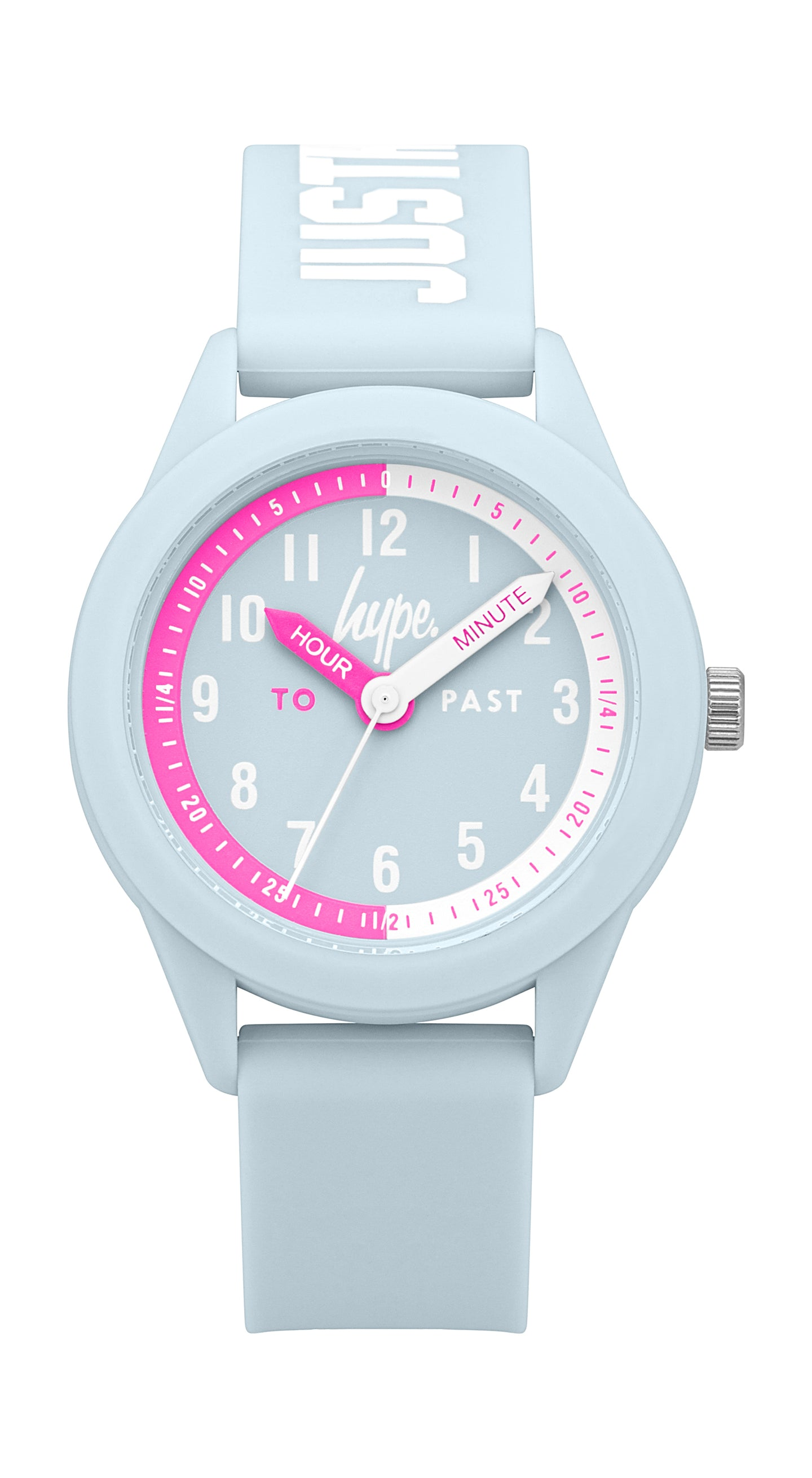 Just Hype Kids Watch | Time Teacher | Pale Purple and Pink | HYK010U