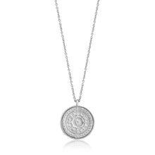 Load image into Gallery viewer, Silver Verginia Sun Necklace N009-05H