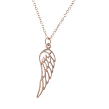 Load image into Gallery viewer, Rose Gold Angel By My Side Pendant