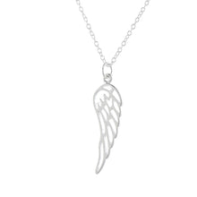 Load image into Gallery viewer, Silver Angel By My Side Pendant