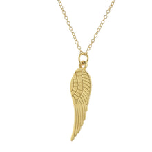 Load image into Gallery viewer, Gold Guardian Angel Necklace