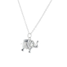 Load image into Gallery viewer, Silver Lucky Elephant Pendant