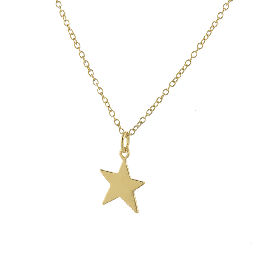 Gold My Lucky Star Pendant