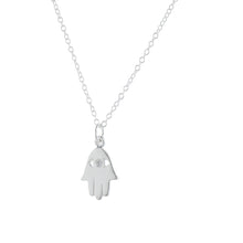 Load image into Gallery viewer, Protection & Good Luck Hamsa Pendant