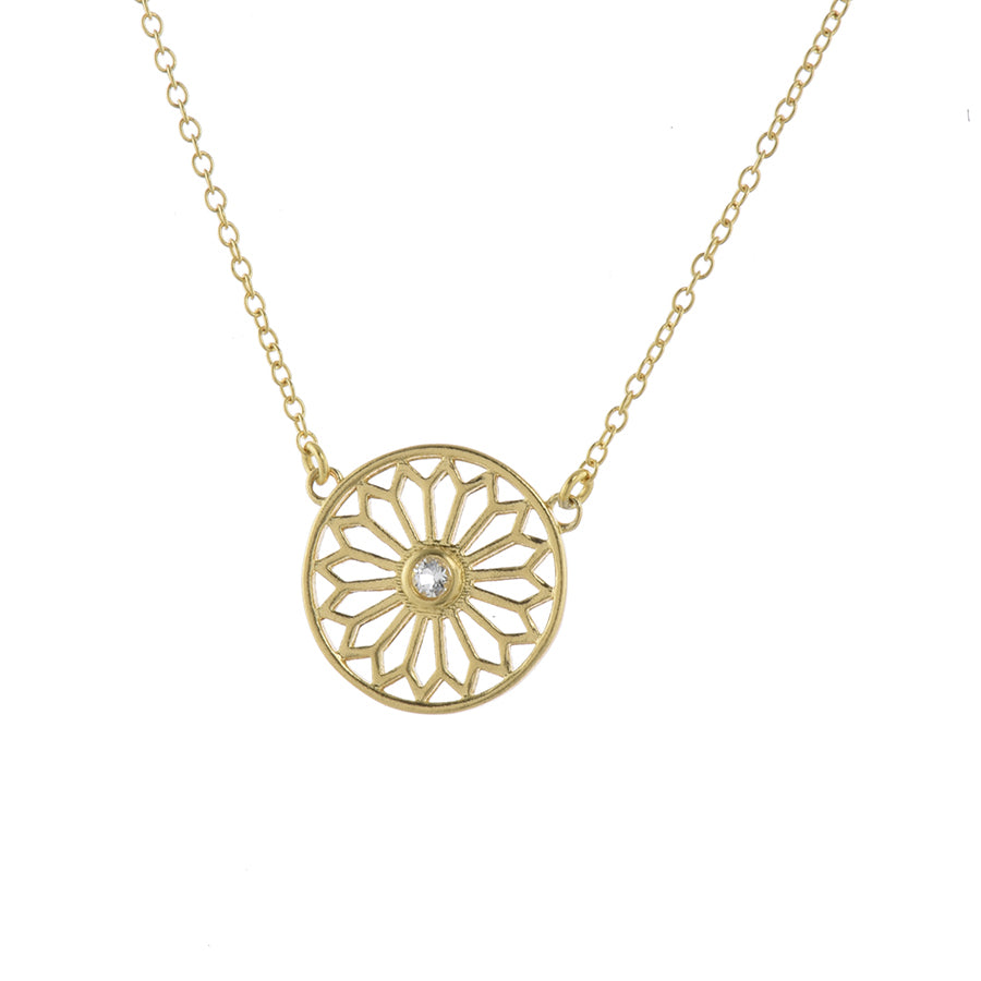 Gold Good Karma Necklace