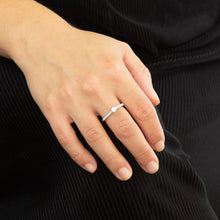 Load image into Gallery viewer, Solitaire Pave Ring R3754