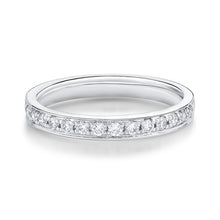 Load image into Gallery viewer, 18ct White Gold Diamond Grain Set Half Eternity Band