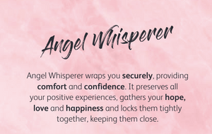 Angel Whisperer Medium Rose Gold Pendant