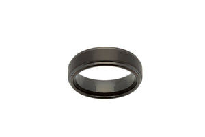 Tungsten Ring with Black IP Plating TUR-54