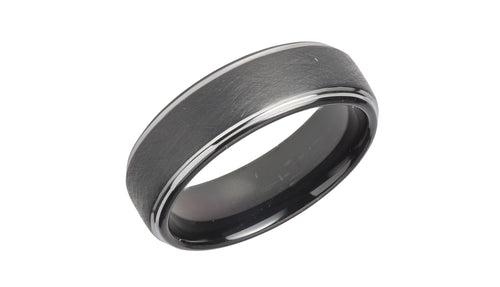 Tungsten Ring with Black Plating TUR-78