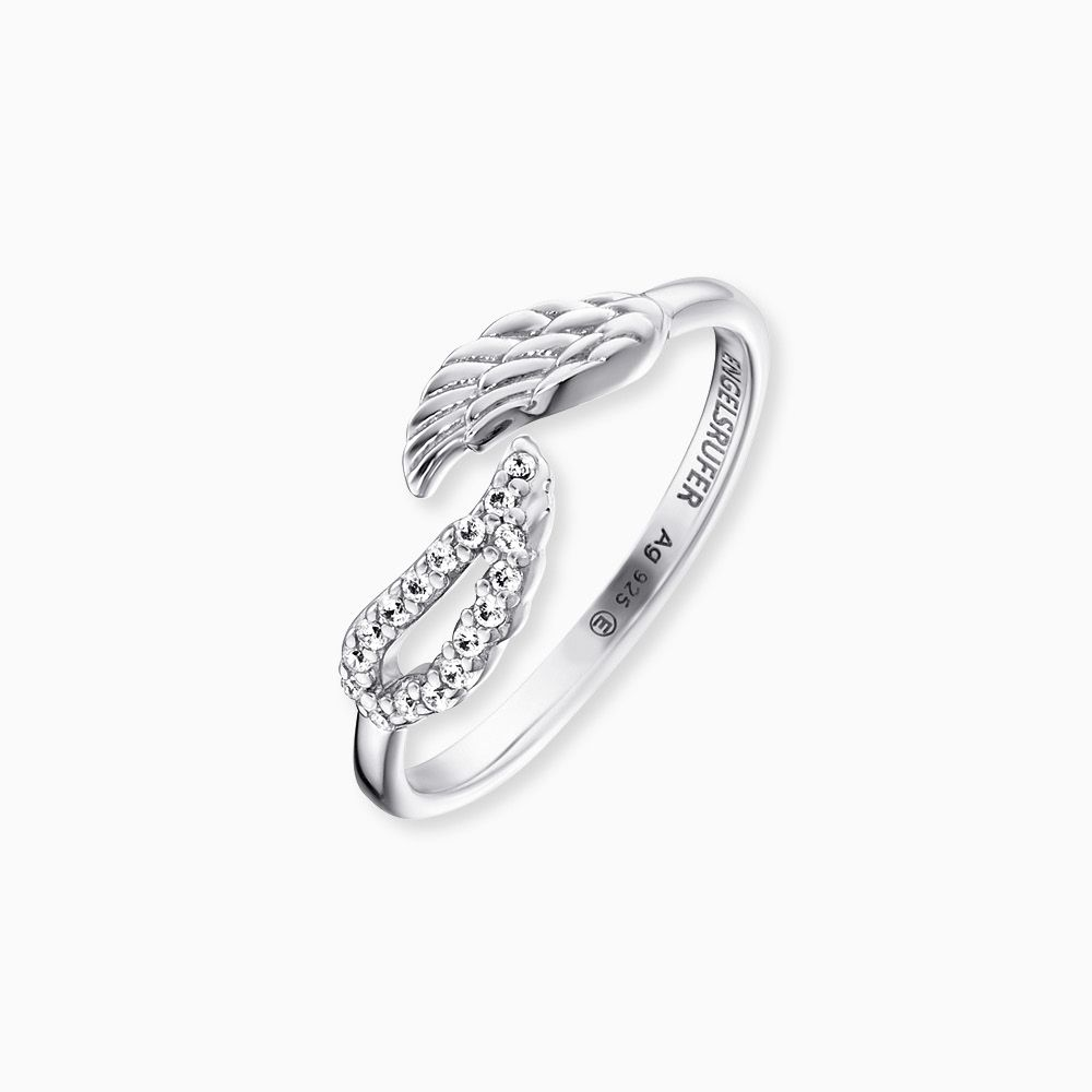 Angel Twin Wing Ring