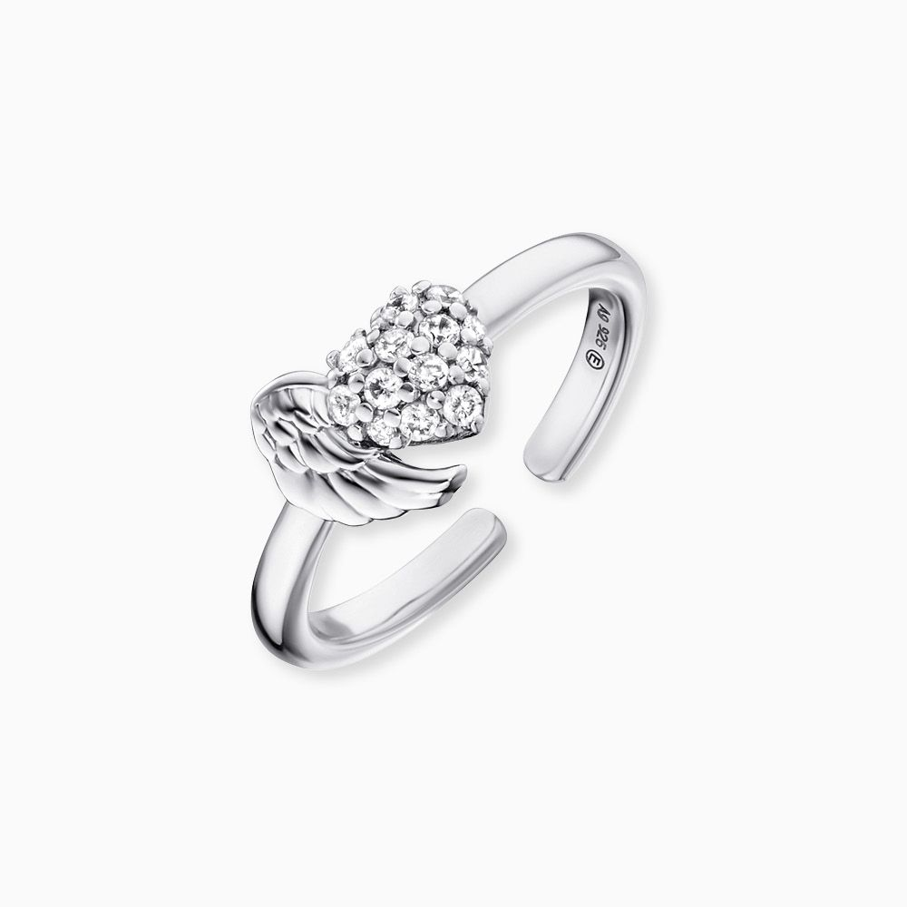 Heart-Wing Ring