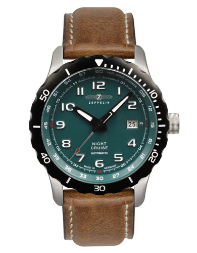 Zeppelin Watch | NIght Cruise Diver | Mechanical | 7264-3