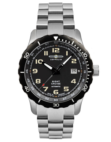 Zeppelin Watch | Night Cruise Diver | Mechanical | 7264M-5