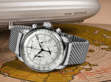 Load image into Gallery viewer, Zeppelin Watch | 100 Years Zeppelin ED. 1 Alarm Chrono | 7680M-1
