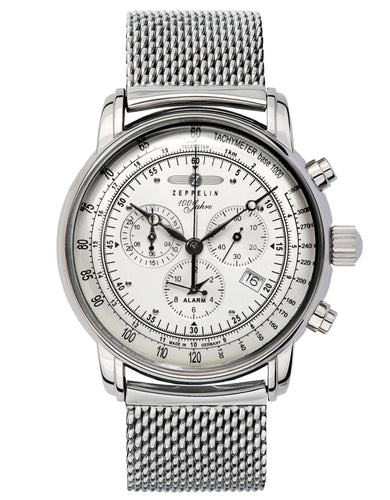 Zeppelin Watch | 100 Years Zeppelin ED. 1 Alarm Chrono | 7680M-1