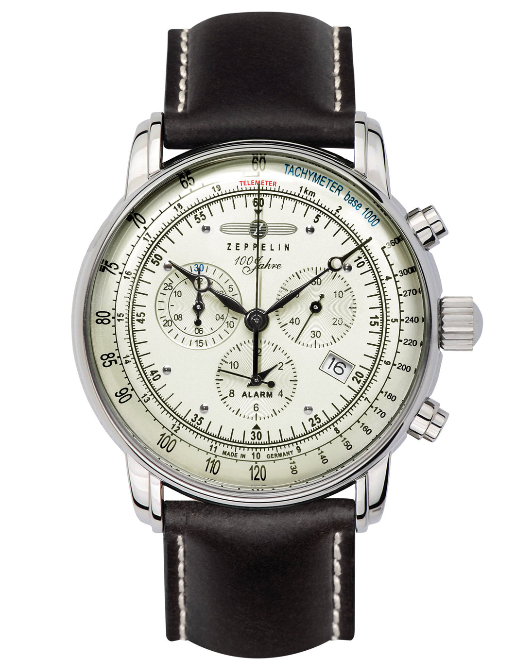 Zeppelin Watch | 100 Years Zeppelin ED. 1 Alarm Chrono | 8680-3