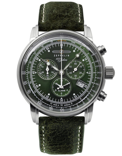Zeppelin Watch | 100 Years Zeppelin ED. 1 Alarm Chrono | 8680-4