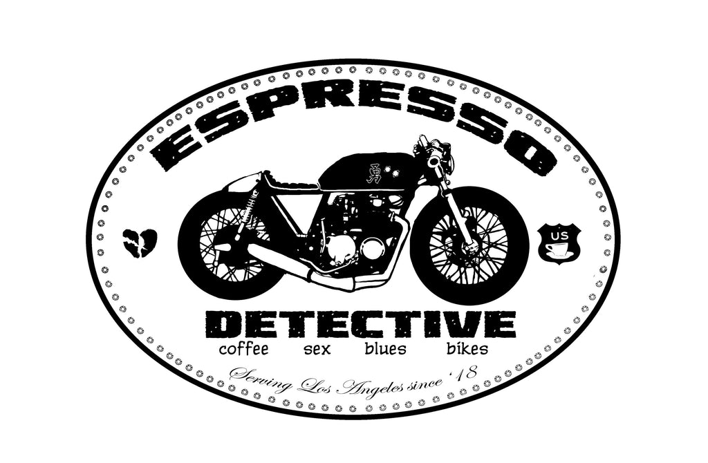Cafe Racer Espresso Wall Art Print