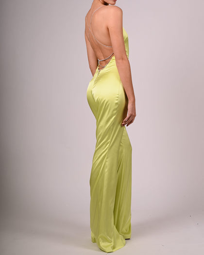 Harmony Jumpsuit in Lime