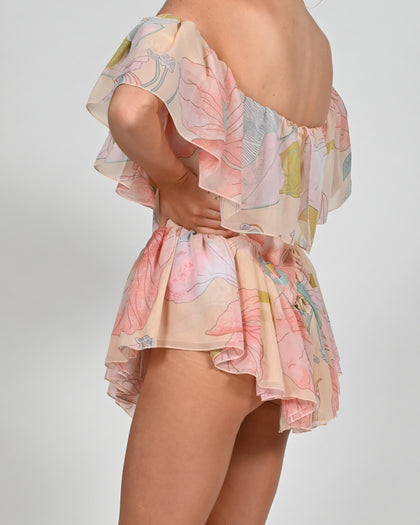 Vita Playsuit in Anais Print