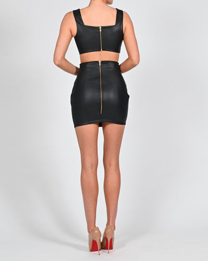 Rox Mini Skirt in Black