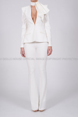 Faith Suit Jacket In Ivory