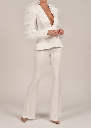 Luella Suit in Ivory