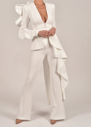 Charlotte Suit in Ivory