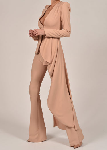 Charlotte Suit in Nude