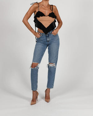 Aphrodite Top in Black