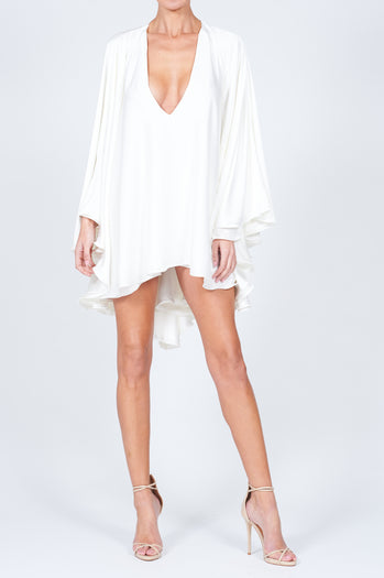 Lorena Swing Dress Ivory