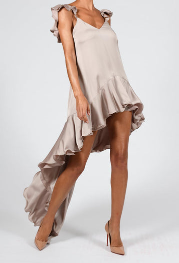 Krista Dress in Mink