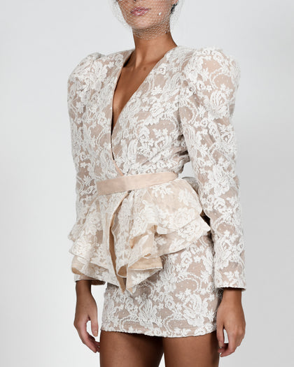 Libby Jacket in Lace