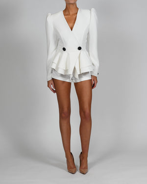 Libby Jacket and Shorts in Ivory