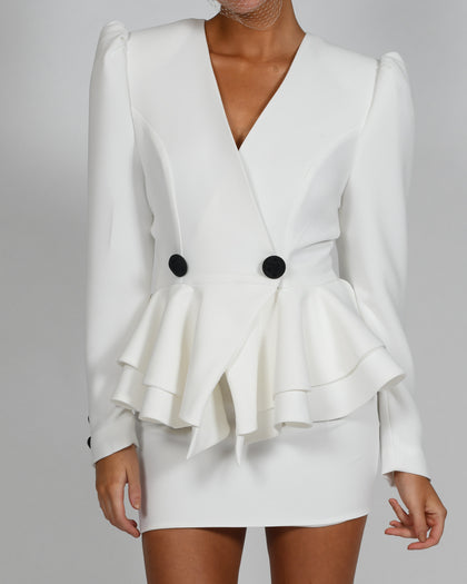 Libby Jacket in Ivory