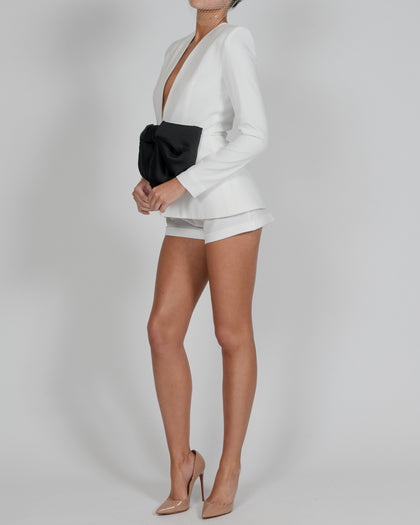 Lucia Jacket and Shorts in Ivory