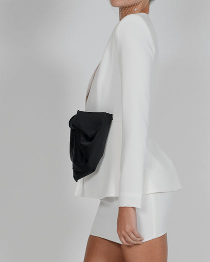 Lucia Jacket and Mini Skirt in Ivory