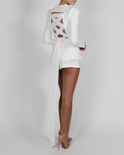 Chloe Jacket in Ivory