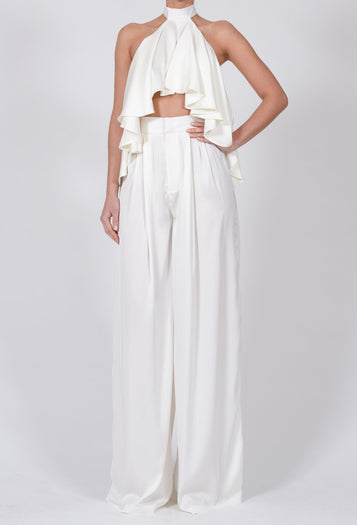 Natasha Trousers in Ivory