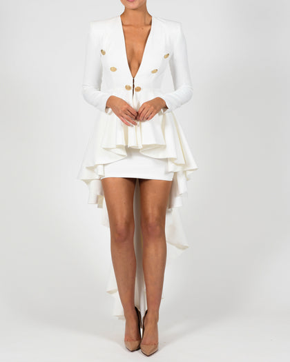 Bree Jacket in Ivory