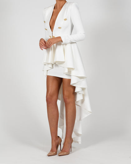 Bree Jacket and Skirt in Ivory