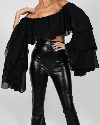 Madonna Top in Black
