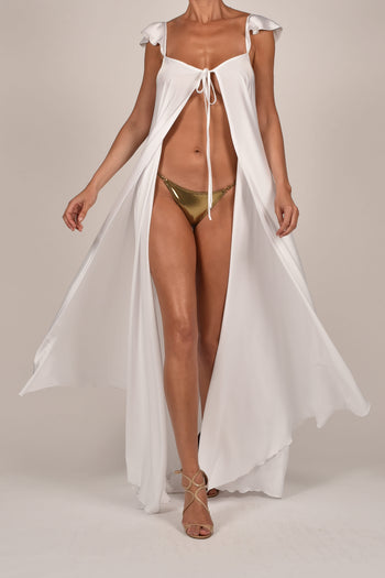 Krista Kaftan in White