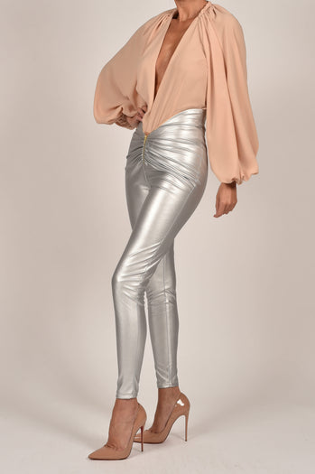 Shannon Trousers in Silver