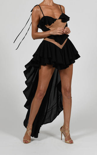 Aphrodite Dress in Black