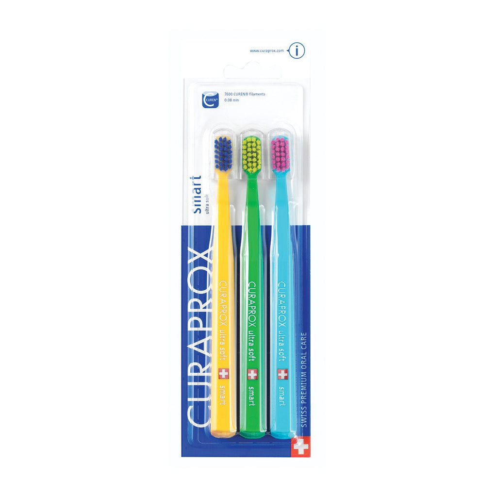 CS Smart Toothbrushes - Three-Pack - Go Oral Care