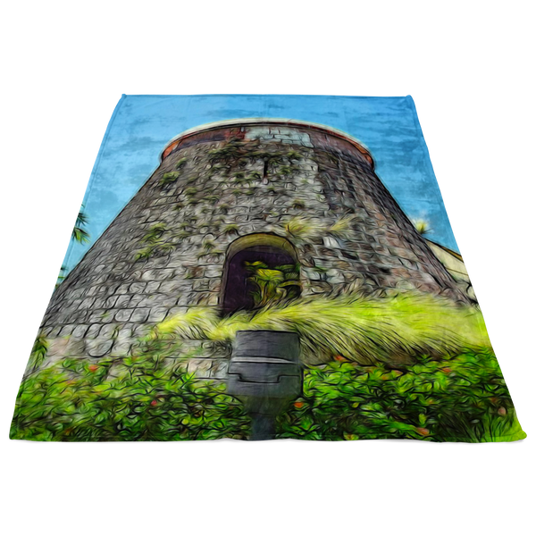 """The Keep"" Fleece Blanket"