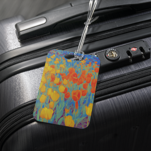 """Hush"" Luggage Tag"