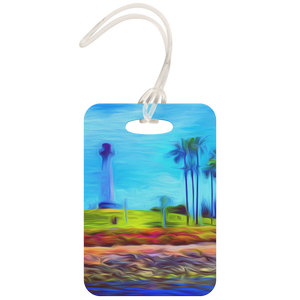 """Palm Light"" Luggage Tag"